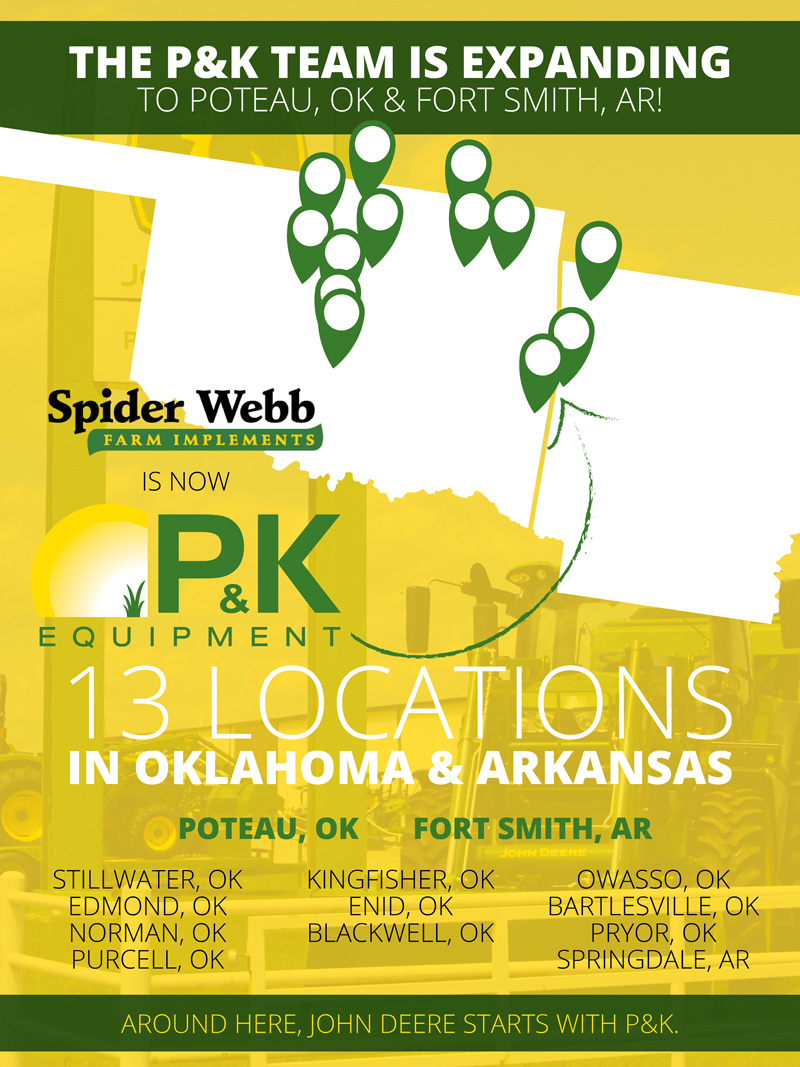 P&K is Expanding to Poteau & Fort Smith