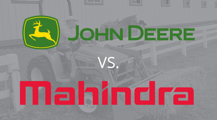 John Deere 5E Series vs. Mahindra 2500 Series