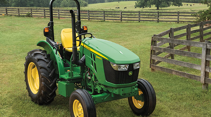 Powering Forward with New 5E Series Tractors