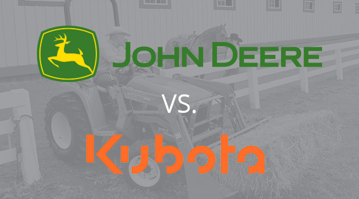 John Deere 1 Series vs. Kubota BX Series