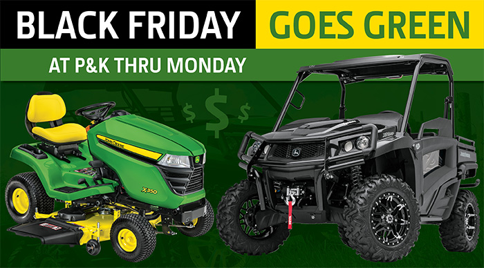 2018 Black Friday Goes Green Sales Event