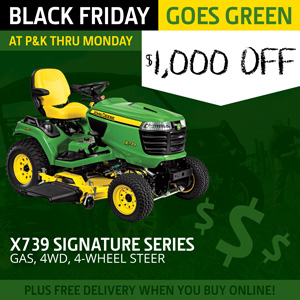 X739 Signature Series Mower is $1,000 off at P&K!