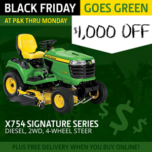 X754 Signature Series Mower is $1,000 off at P&K!