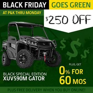 ALL NEW XUV590M Special Edition Gator is $250 off at P&K!