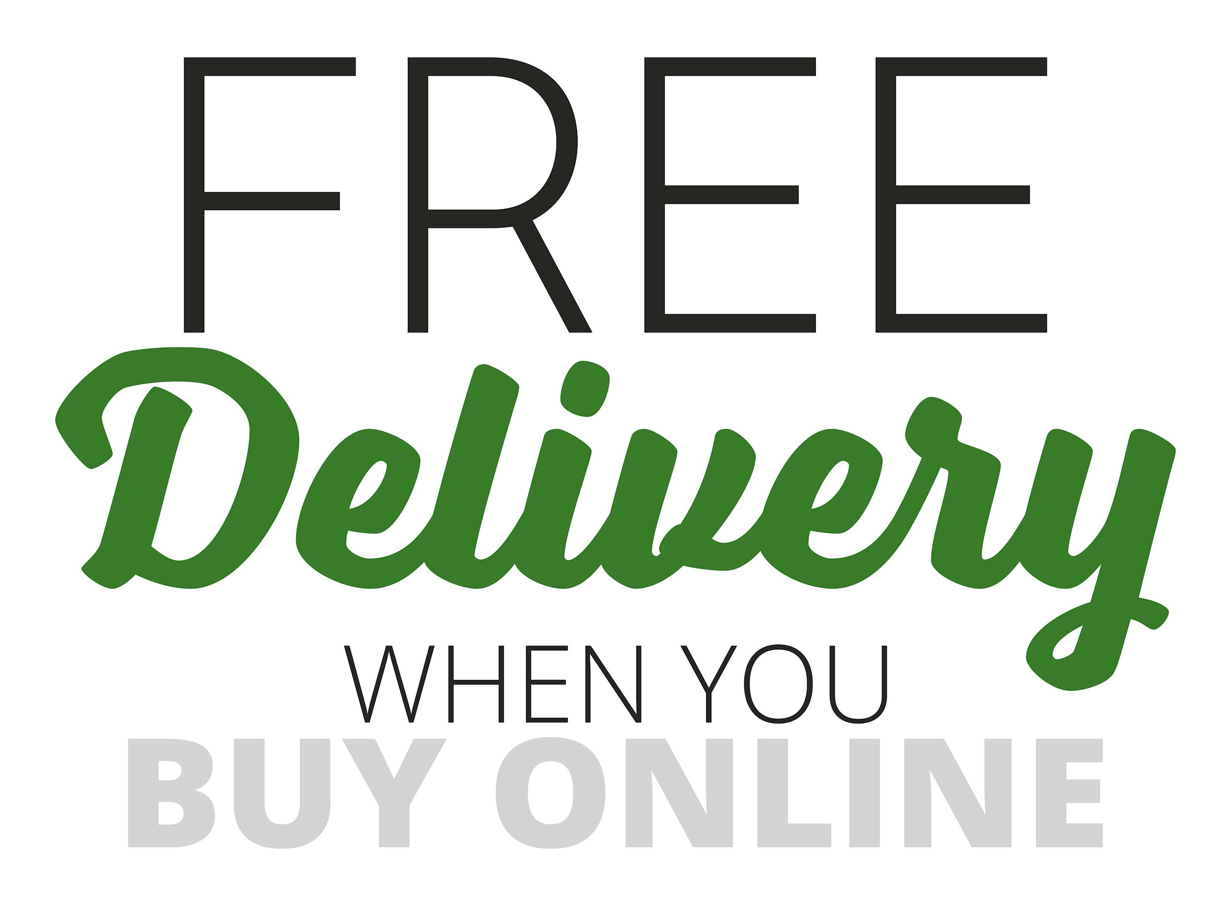 Free Delivery when you Buy Online during P&K's Black Friday Sales Event