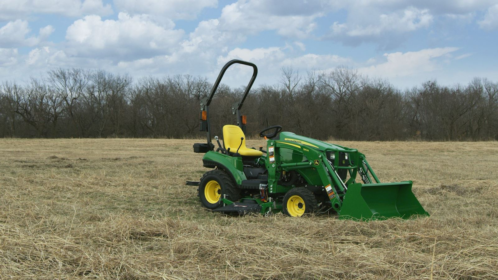 John Deere 1023E Silver Mowing Package is just $205 per month at P&K!