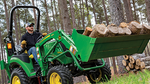 2 Series Tractors are affordable, reliable, and compatible with implements and attachments!