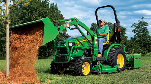 2 Series Compact Utility Tractors are built to do the toughest jobs.