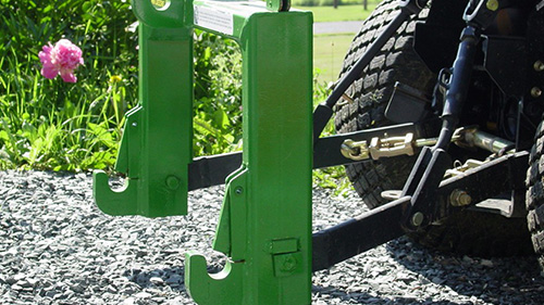 iMatch Quick Hitch allows operators to easily connect and disconnect rear implements