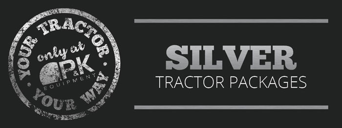 Silver Mowing Package- Your Tractor Your Way only at P&K