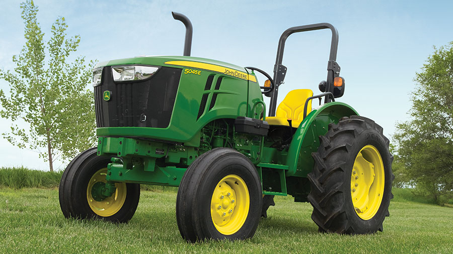 5045E Tractor for just $15,499 or $154.99 per month at P&K!