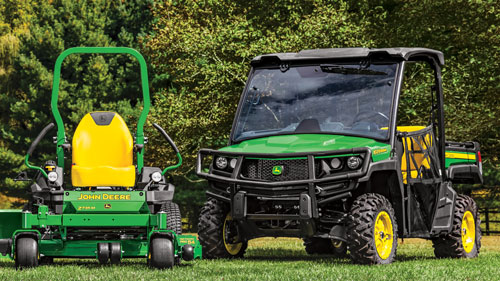 Get 15% off John Deere seats & attachments for riding lawn equipment and Gator utility vehicles!